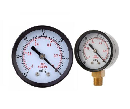 قیمت مانو متر خشک یا فشار سنج خشک FG-مانومتر فشار روغنی FG-درجه باد خشک اف جی-قیمت گیج خشک اف جی
