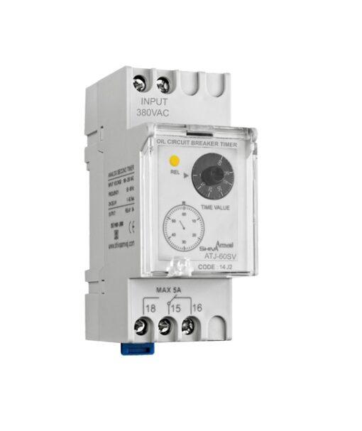 کاتالوگ مشخصات، آموزش نصب، قیمت و خرید تایمر کلید روغنی مدل ATJ-60SV شیوا امواج