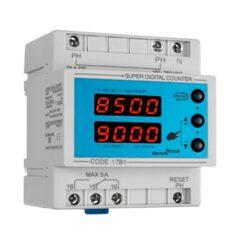 کاتالوگ مشخصات، آموزش نصب، قیمت و خرید کانتر و شمارنده دیجیتال مدل sdc-2m شیوا امواج