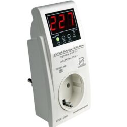 کاتالوگ مشخصات، قیمت و خرید محافظ ولتاژ تا فاز تک پریز شیوا امواج مدل VPR-T240