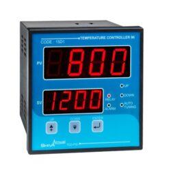 کاتالوگ مشخصات، آموزش نصب، قیمت و خرید کنترل کننده دما و ترموستات PID تابلویی سایز 96 مدل TCD-PID شیوا امواج