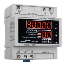 کاتالوگ مشخصات، فیلم آموزش نصب، قیمت و خرید ساعت کار دیجیتال شیوا امواج مدل TCB-11YR