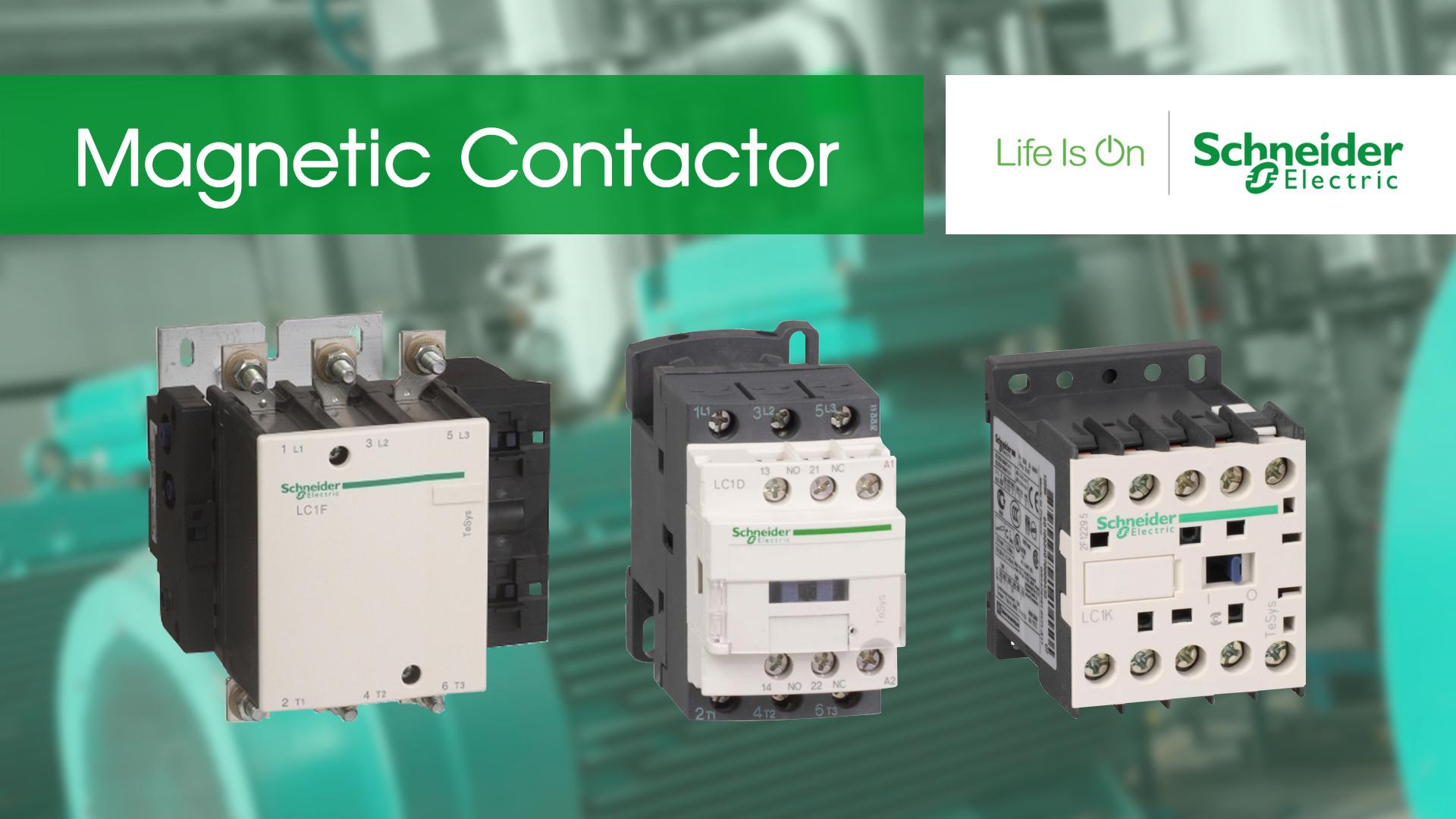 کاتالوگ مشخصات، قیمت خرید و نمایندگی فروش محصولات اشنایدر الکتریک Schneider electric تله مکانیک کنتاکتور سری f و D در آمپر های 12 تا 800 امپر